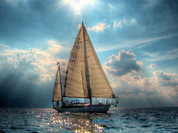 sailboat boat desktop wallpaper